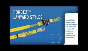 FORCE2™ Shock Absorbing Lanyards