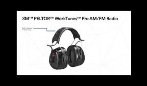 3M™ PELTOR™ WorkTunes™ Pro FM/AM Radio